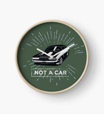 not a car Clock