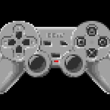 Console Gamepad Pixel Art by seriousGEO
