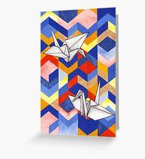 Origami Greeting Card