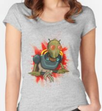 Krombopulos Michael Women's Fitted Scoop T-Shirt