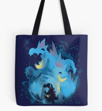 totodile, croconaw and feraligart evolutions cool design Tote Bag