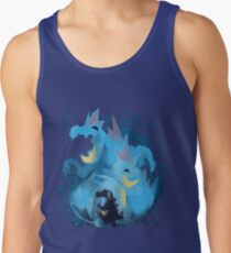 totodile, croconaw and feraligart evolutions cool design Tank Top