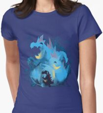 totodile, croconaw and feraligart evolutions cool design Womens Fitted T-Shirt