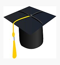 Graduation Cap Photographic Print