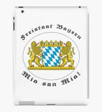 Bayern, des samma mia! iPad Case/Skin