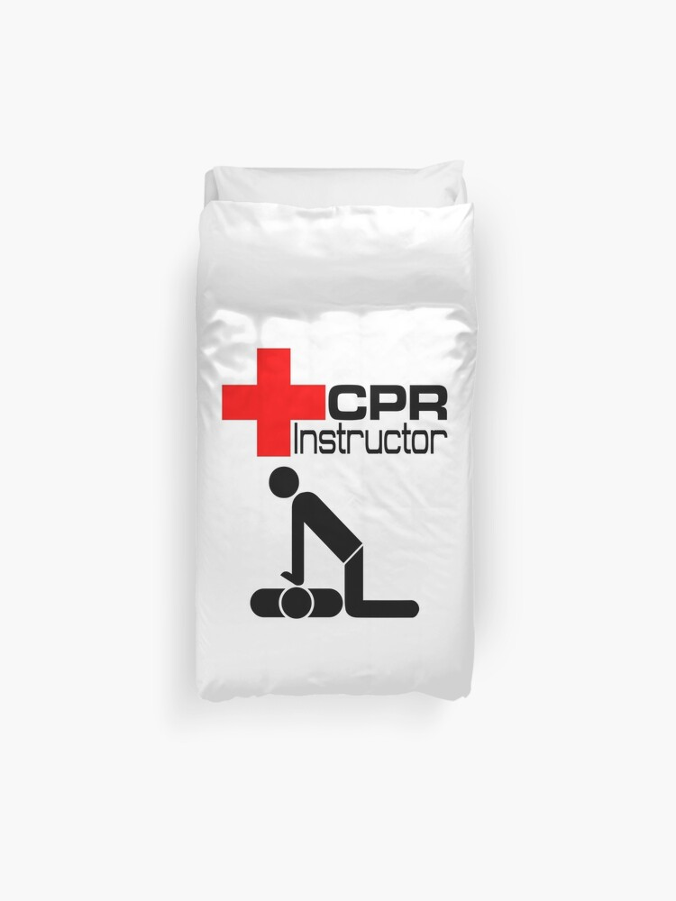 Stupendous Cpr Instructor Teacher Class Duvet Cover Short Links Chair Design For Home Short Linksinfo