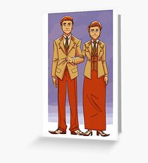 bioshock brothers Greeting Card