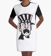 nerd Graphic T-Shirt Dress