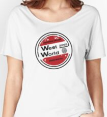 Westworld Retro Logo Round Women's Relaxed Fit T-Shirt