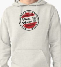 Westworld Retro Logo Round Pullover Hoodie