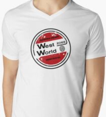 Westworld Retro Logo Round T-Shirt