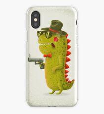 Dino bandito iPhone Case