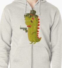 Dino bandito Zipped Hoodie