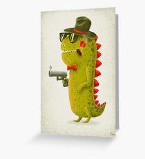 Dino bandito Greeting Card