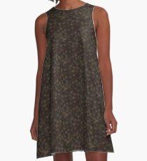 Earth Triangle A-Line Dress
