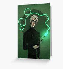 Draco Malfoy Greeting Card