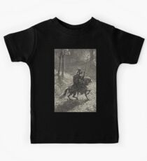 Don Quixote, Don Quijote, Gustave Doré, one of the 500 created for the work Kids Tee