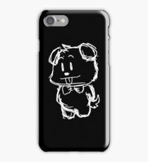 Cute Teddy Bear Sketch iPhone Case/Skin