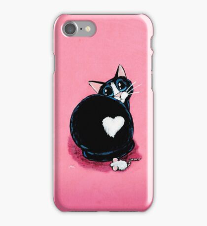Fuzzy Love Butt iPhone Case/Skin