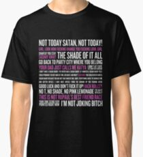 Rupaul's Drag Race Quotes (black background) Classic T-Shirt