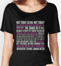 Rupaul's Drag Race Zitate (schwarzer Hintergrund) Baggyfit T-Shirt