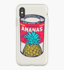 Condensed ananas iPhone Case