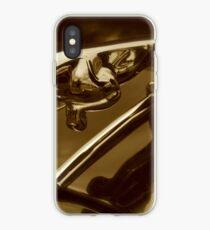 Vinilo o funda para iPhone Pouncing Cat - Jaguar Mark 1 Hood Mascot