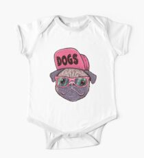 Dogs One Piece - Short Sleeve