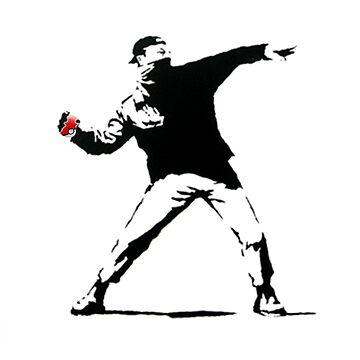 Banksy Pokeball Throw by boaba