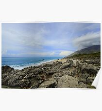Calm Seacoast - Travel Photography Poster