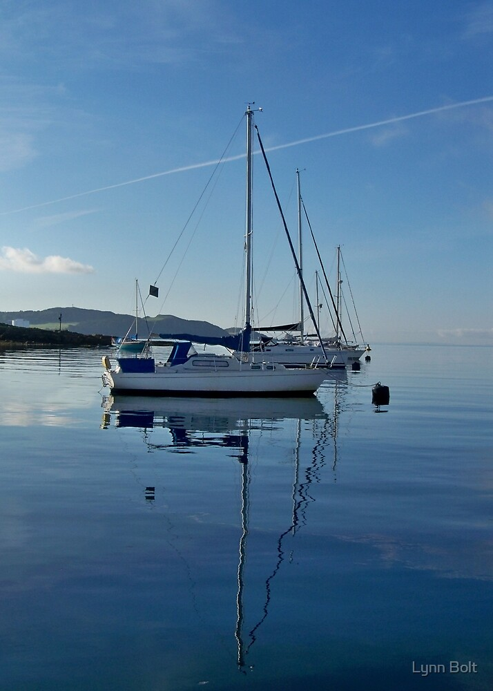 Sailing on the Firth of Clyde by Lynn Bolt