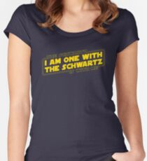 The Schwartz Is With Me Women's Fitted Scoop T-Shirt