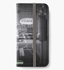 The Terribly Ordinary Adventures of Franck & Zaphod iPhone Wallet/Case/Skin