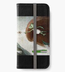 The creation of Zaphod - The creation of Zaphod iPhone Wallet/Case/Skin