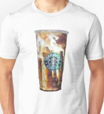 Iced coffee photo print T-Shirt