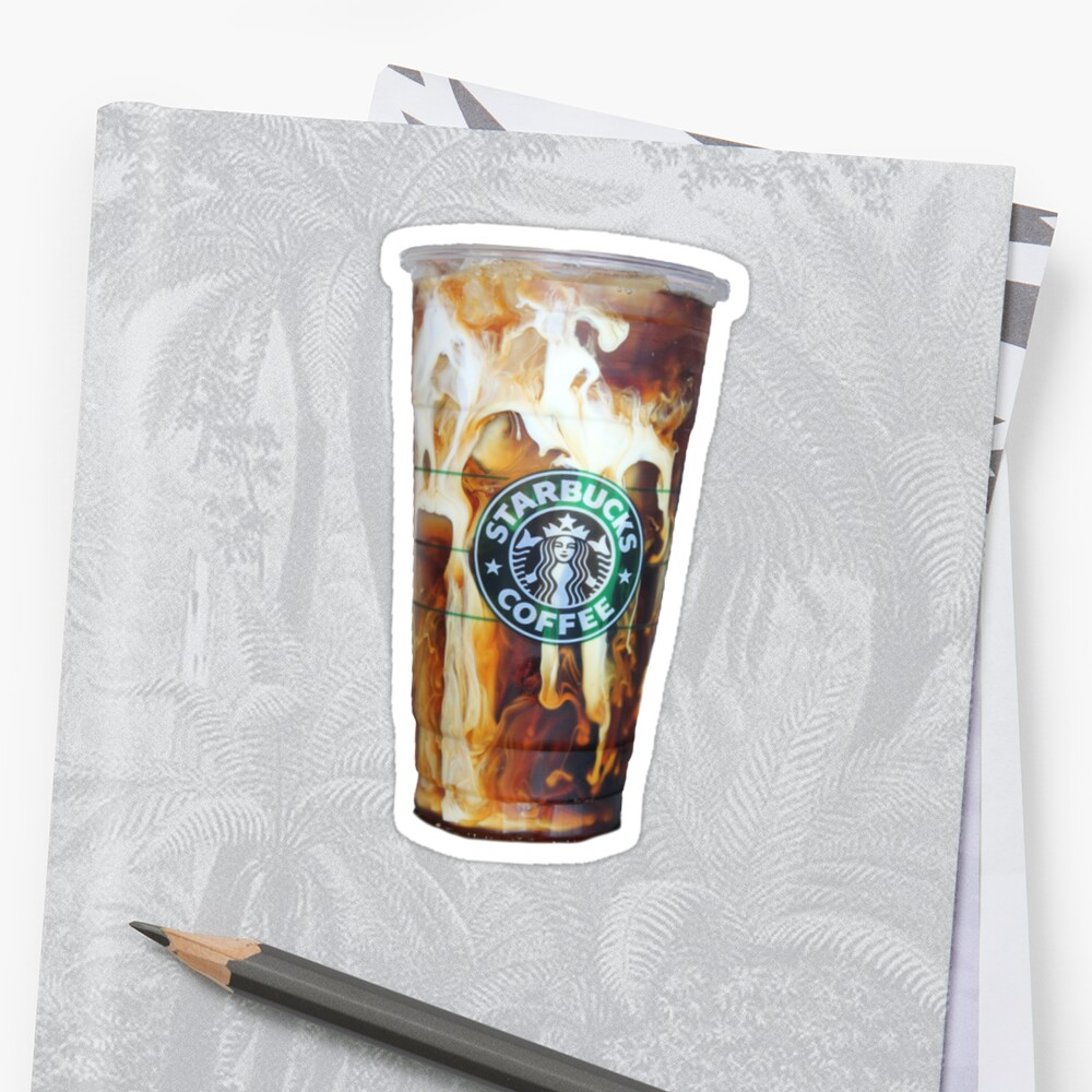 Iced coffee photo print by Katie Ryder