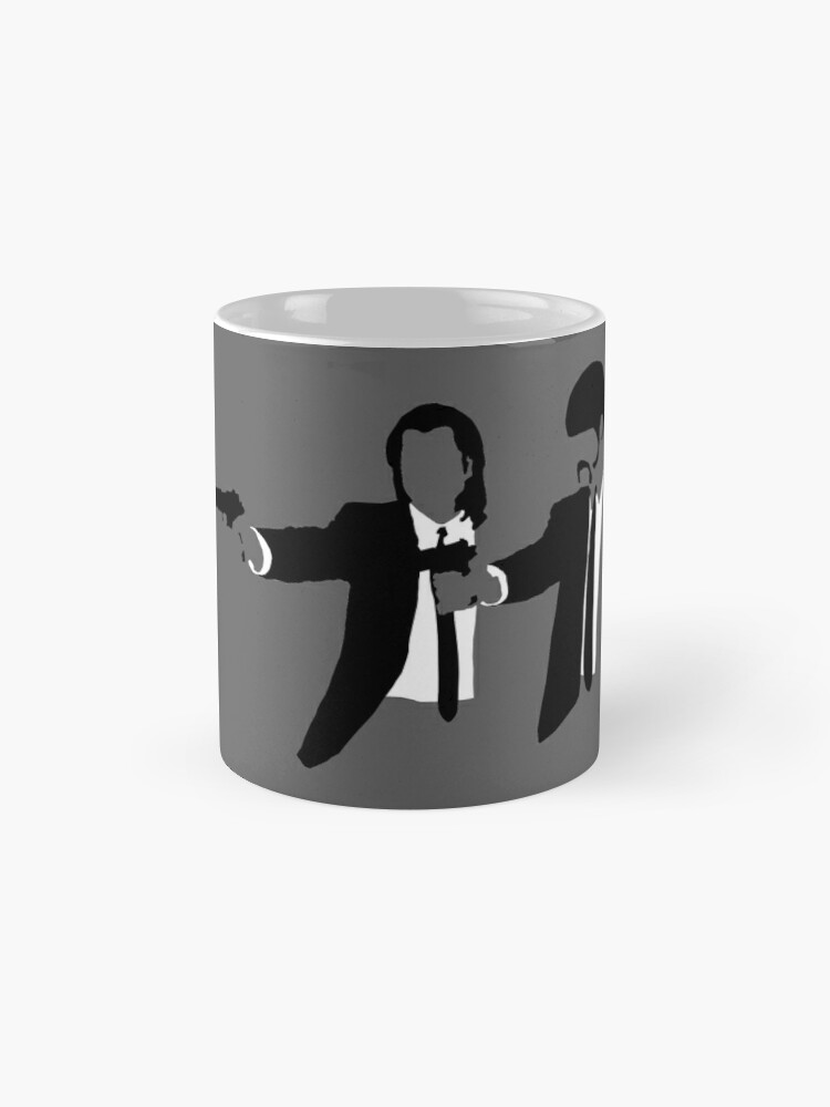 Alternative Ansicht von PULP FICTION Tasse (Standard)