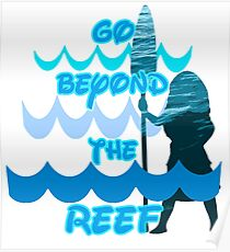Go Beyond the Reef Poster