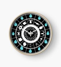 Saint Seiya Clock White Clock