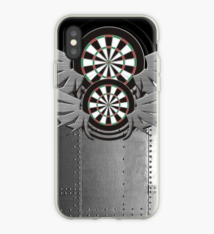 Flight Crew Darts Shirt iPhone Case