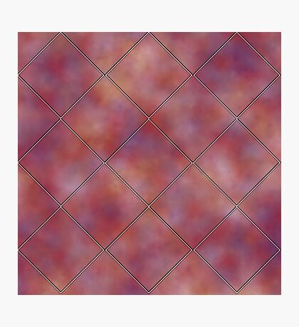 Muted Mauve Tile by Julie Everhart Photographic Print