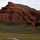 Red Gulch  Alkali National Back Country Byway I - Big Horn County, WY by Rebel Kreklow