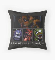 Fünf Nächte im Freddy's Dekokissen