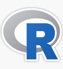 R sticker Sticker