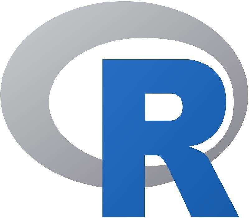 R sticker by devtee