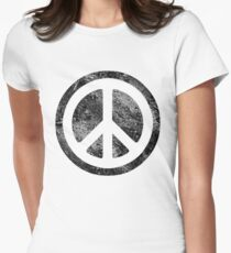 Peace Symbol - Dissd Women's Fitted T-Shirt