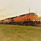 Train En Route by Graphxpro