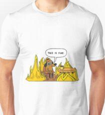 This is Fine (Speech Bubble) Unisex T-Shirt