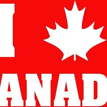 I maple leaf Canada!  by IZZYBEEP