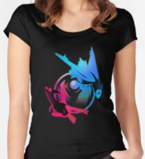 Latios and Latias Women's Fitted Scoop T-Shirt